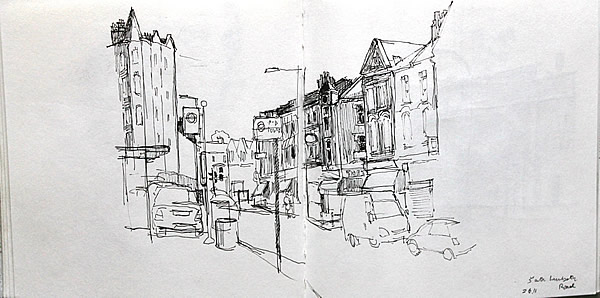 Michael Calver South Lambeth Road 2011